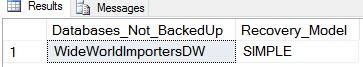 Database_Not_Backed_Up